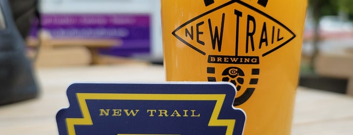 New Trail Brewing is one of Wesさんのお気に入りスポット.