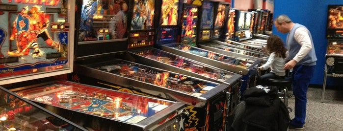 Yestercades Arcade is one of Pinball Destinations.
