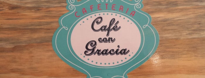 Café con Gracia is one of Lugares guardados de Rosana.