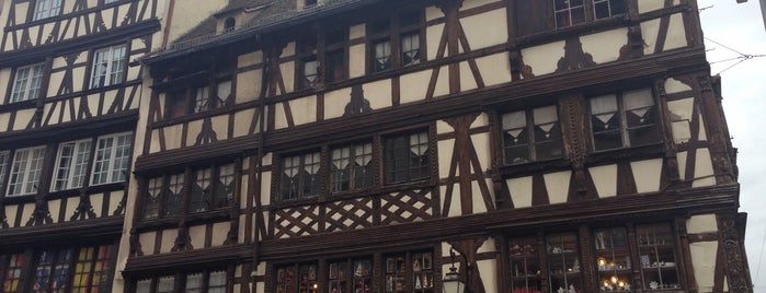 Maison Bollinger is one of Strasbourg favorites.