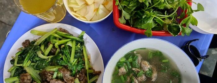 Phở Xào Bắp Bò Hàng Buồm is one of Hanoi Food & Booze.