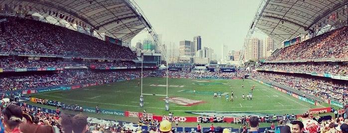 Hong Kong Stadium is one of Pawel : понравившиеся места.