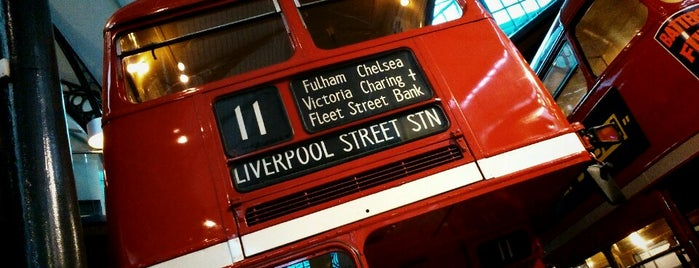 London Transport Museum is one of London Cultural.