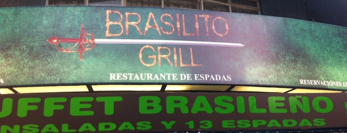 Brasilito Grill is one of a probar.
