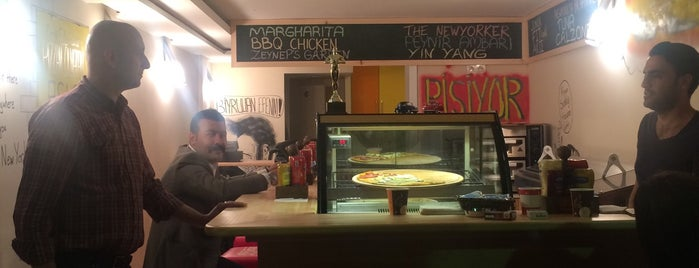 new yorker pizza is one of Istanbul Culinary Guide of Cem Oz.