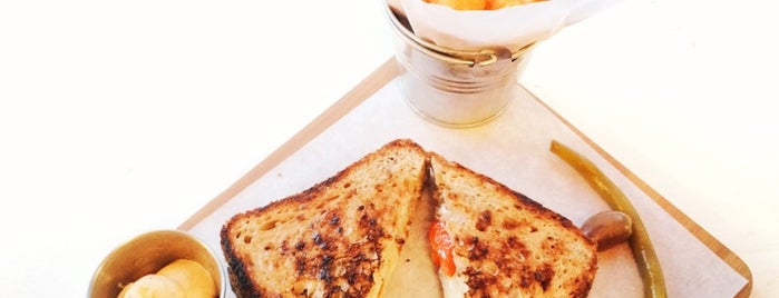 Cheese Grille is one of NYC: Fast Eats & Drinks, Food Shops, Cafés.