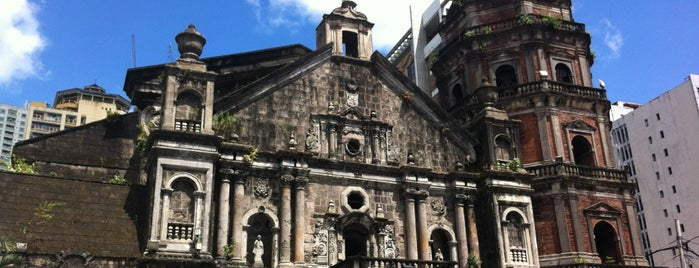 Minor Basilica of St. Lorenzo Ruiz of Manila (Binondo Church) is one of filippine.