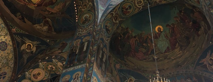 Church of the Savior on the Spilled Blood is one of Anastasia'nın Beğendiği Mekanlar.