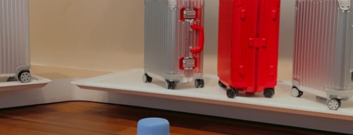 Rimowa is one of Paris.