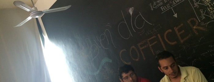 COFFICE Playa is one of ¿Work cafes?.