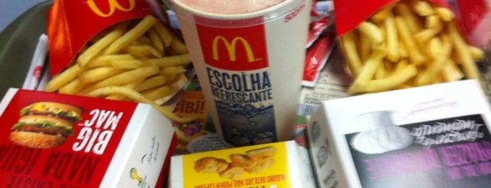 McDonald's is one of BH Hamburguerias.