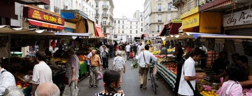Marché d'Aligre is one of Paris for foodies.