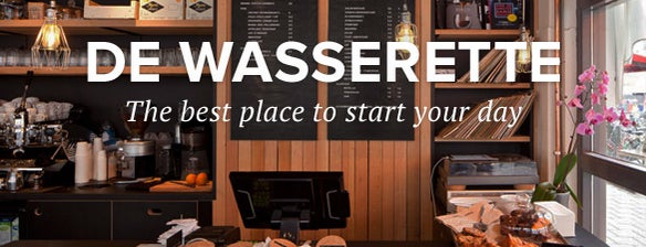 "De Wasserette is one of ""let's try it out"" Amsterdam."