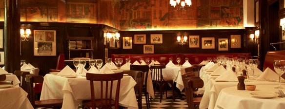Minetta Tavern is one of NYC, I'm not a tourist, but a mobile citizen.