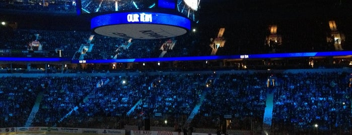 Rogers Arena is one of NHLku.
