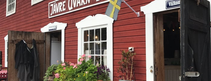 Jävre QuarnCafé Och Museum is one of Locais curtidos por Simon.