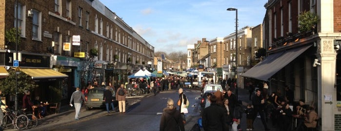Broadway Market is one of London Markets & Food Stalls.