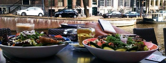Brasserie Bâton is one of Lunch Amsterdam.