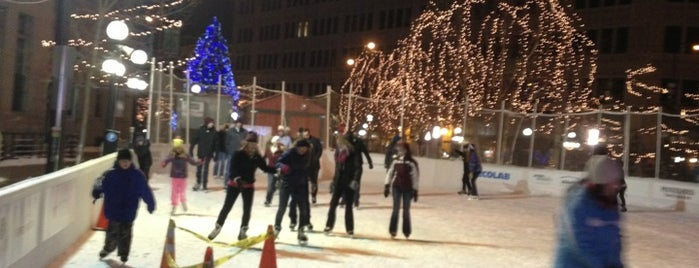 Rice Park - Skating Rink is one of USA Minneapolis.