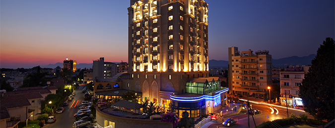 Merit Lefkoşa Hotel & Casino is one of Meskenler.