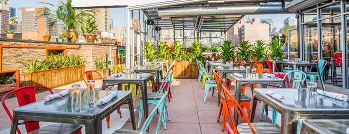 Cantina Rooftop is one of nyc outdoor eats & drinks.