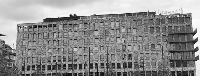 ATLANTIC Hotel is one of Orte, die Ward gefallen.