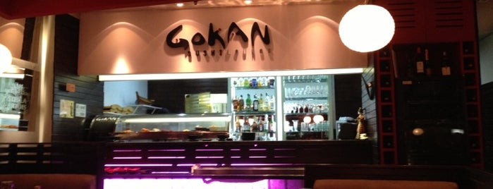Gokan Sushi Lounge is one of Eat, Drink & Coffee.