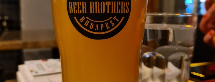 Beer Brothers is one of Budapest - Craft Beer.