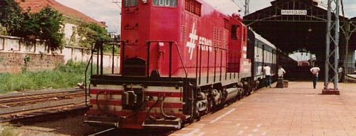 Estação Ferroviária de Araraquara is one of Tempat yang Disimpan Eduardo.