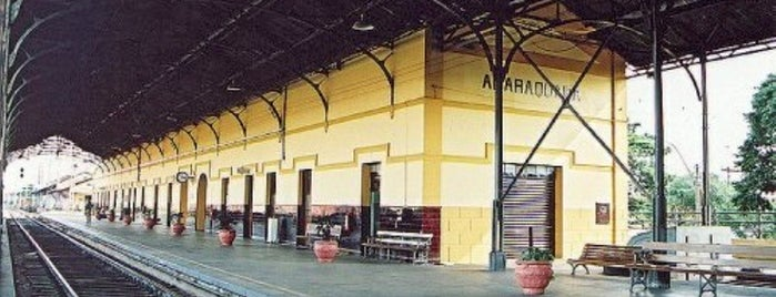 Estação Ferroviária de Araraquara is one of Araraquara - places.