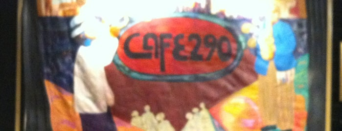 Cafe 290 is one of Jazz Resturant Wish List.