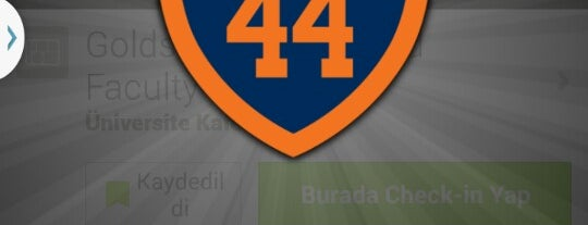 Goldstein Alumni and Faculty Center is one of 100% Syracuse 44 Badge.