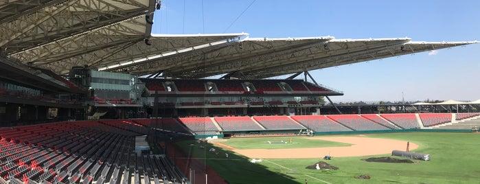 Nuevo Estadio Diablos Rojos del México is one of Locais curtidos por Acxel Wonka.
