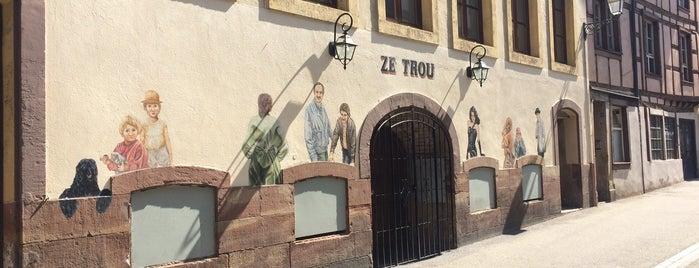 Ze Trou is one of Lugares guardados de Martin.