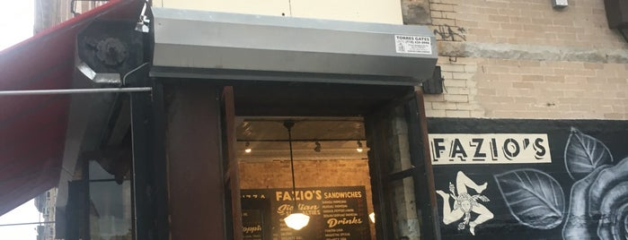 Fazio's is one of BK to-do.