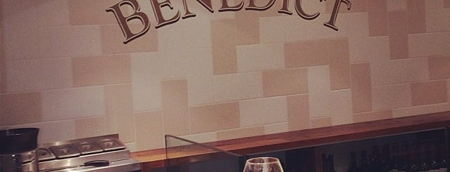 Benedict is one of Restaurants.