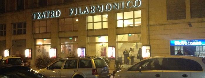 Teatro Filarmonico is one of Enrico'nun Beğendiği Mekanlar.