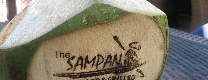 The Sampan Seafood & Grilled is one of Orte, die Tatyana gefallen.