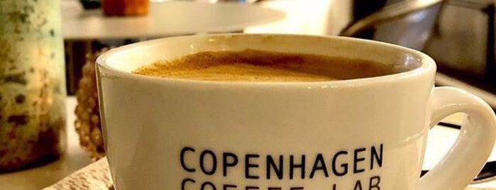 Copenhagen coffee lab is one of Denmark Brainstorms.