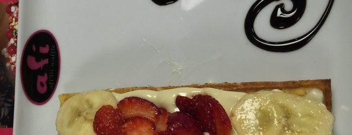 Afi Waffle is one of Lieux qui ont plu à Elif Merve.