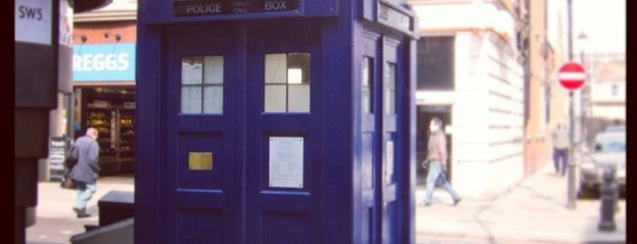 Earls Court Police Box is one of London Map.