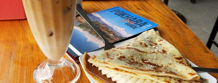 METRO crêpes • coffee • slush is one of Pokhara.