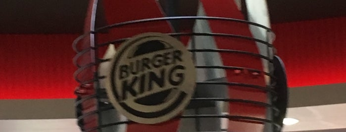 Burger King is one of Tempat yang Disimpan N..