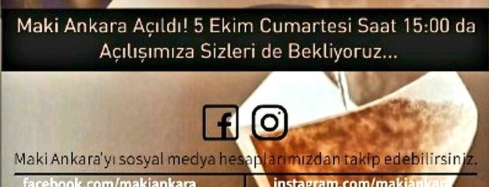 Maki-Yato Ankara is one of ANKARA #3.