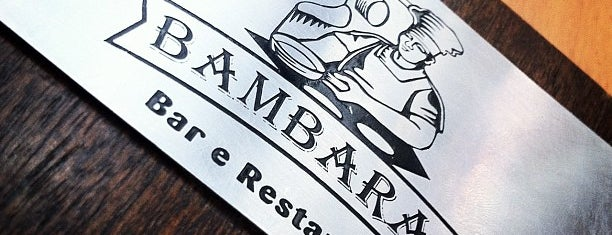Bambaras Bar e Restaurante is one of Karla 님이 좋아한 장소.
