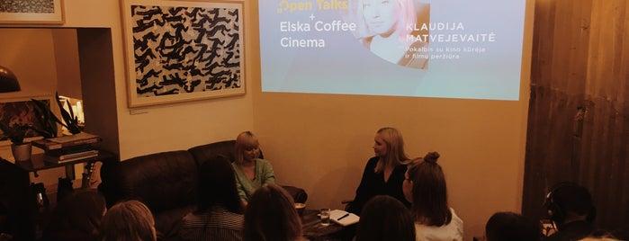 Elska Coffee is one of สถานที่ที่บันทึกไว้ของ Elena.