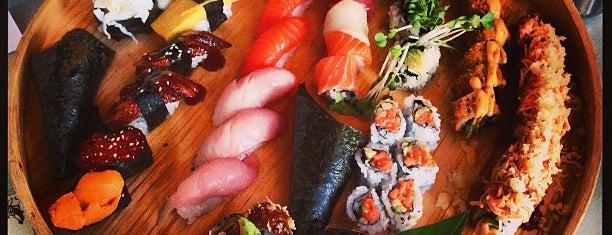 Moshi Sushi Bar is one of Columbus Restaurants.
