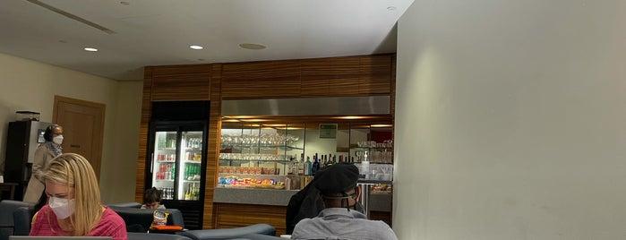 Swissport Lounge is one of Free wi-fi venues.