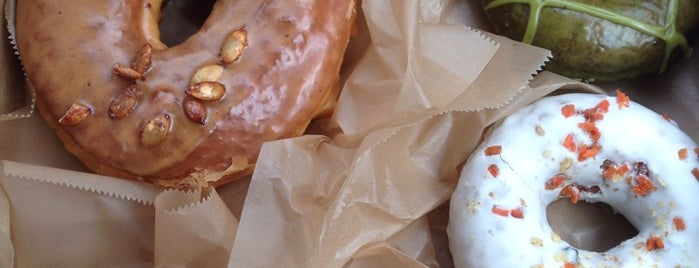 Doughnut Plant is one of NYC Left to Do.