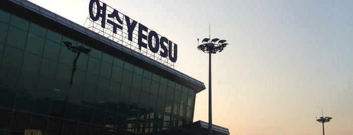 Yeosu Airport (RSU) is one of Lugares favoritos de Mirinha★.